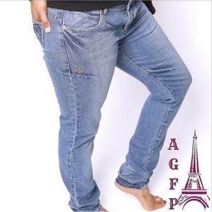 💖 2/$25 Apple Bottoms denim skinny jeans, size 10